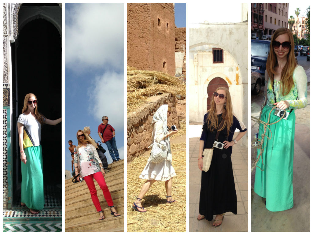 Brilliant Moroccan Women Dress In Traditional Costume To Modern Western Clothing