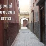 Morrocan terms