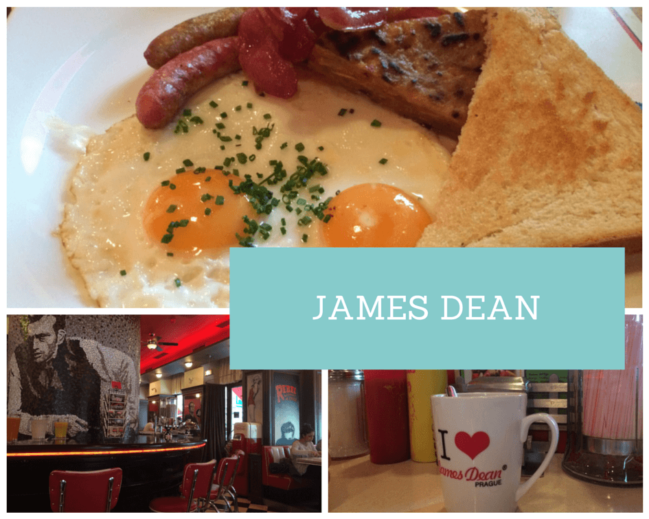 James Dean Cafe Prague
