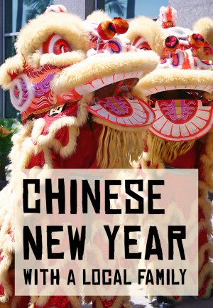 Read my story about spending the Chinese New Year with a Chinese family - without any foreigners in sight!