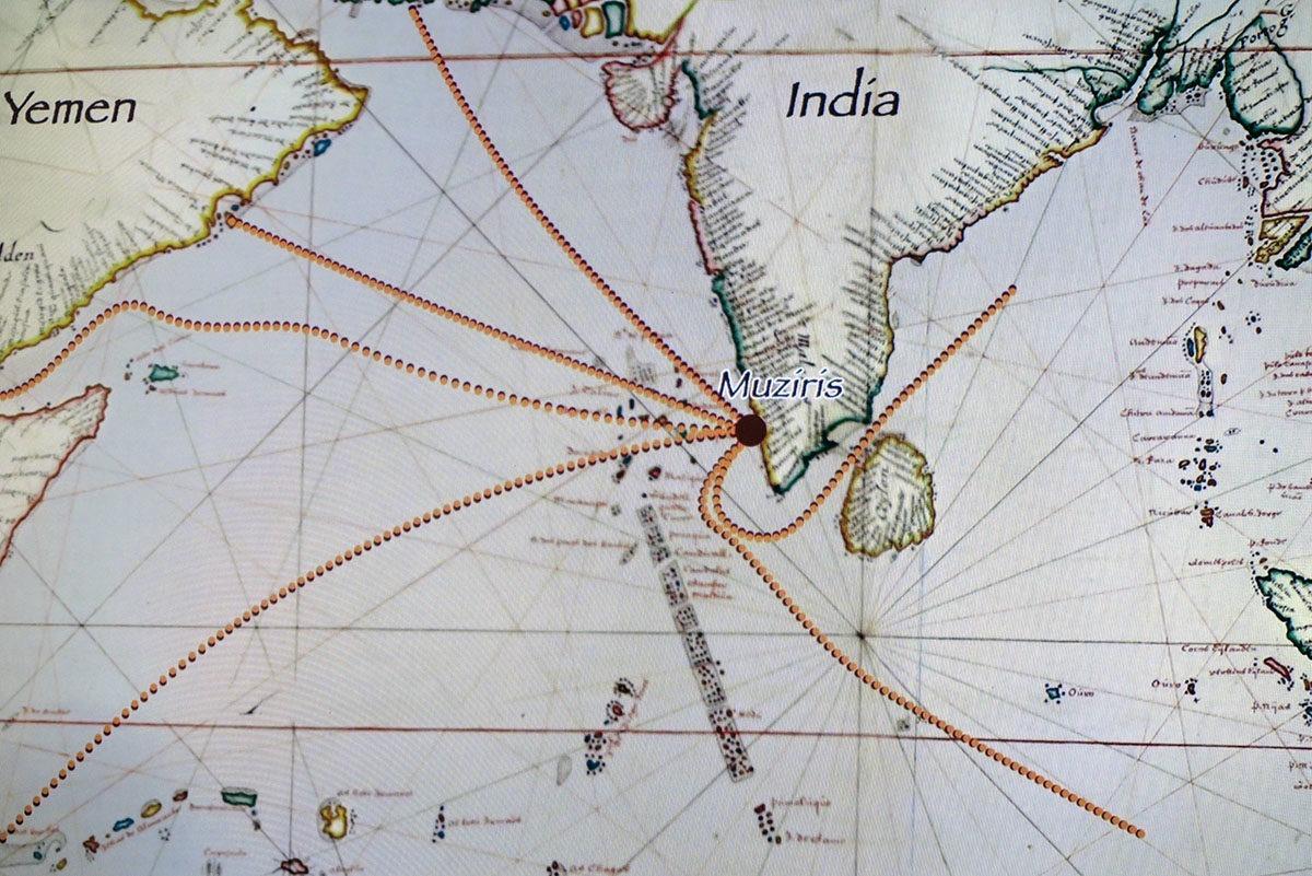 Muziris India