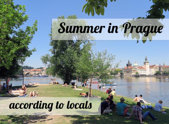 Spending summer in Prague like a local