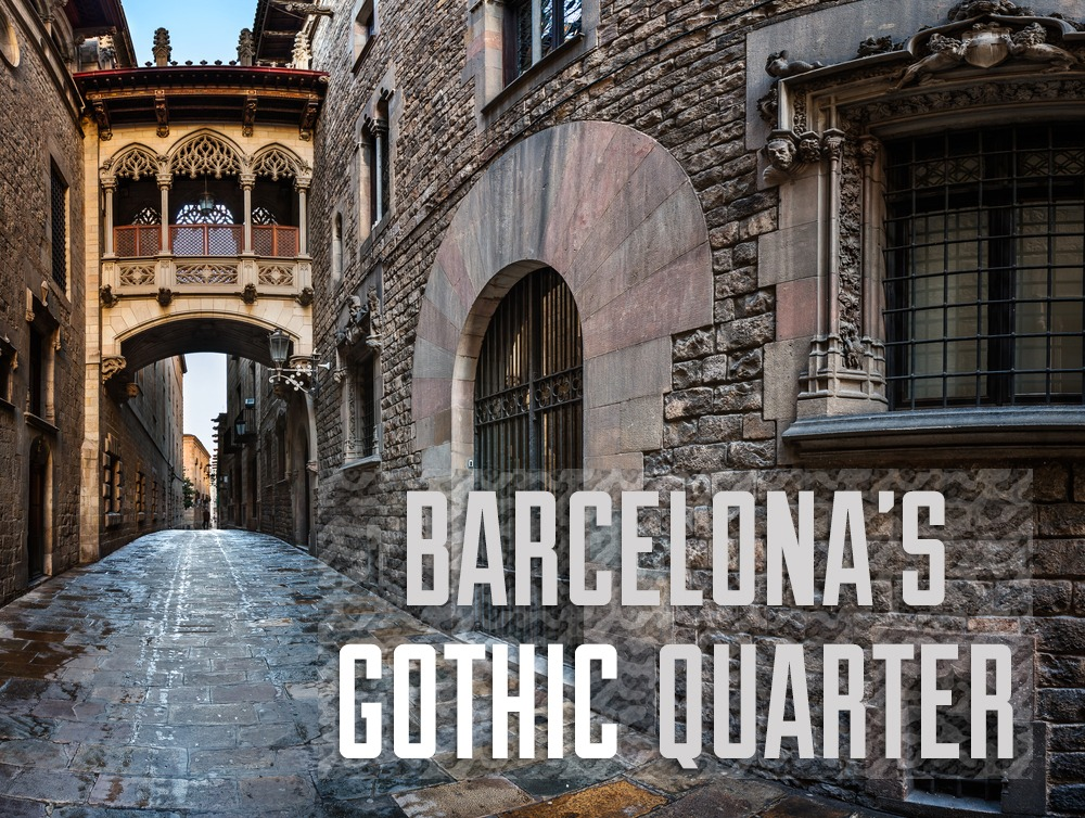 Barcelonas (Fake?) Gothic Quarter  TravelGeekery