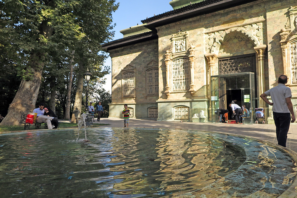 The Green Palace of Sa'd Abad Museum Complex, kings' former summer residence :)