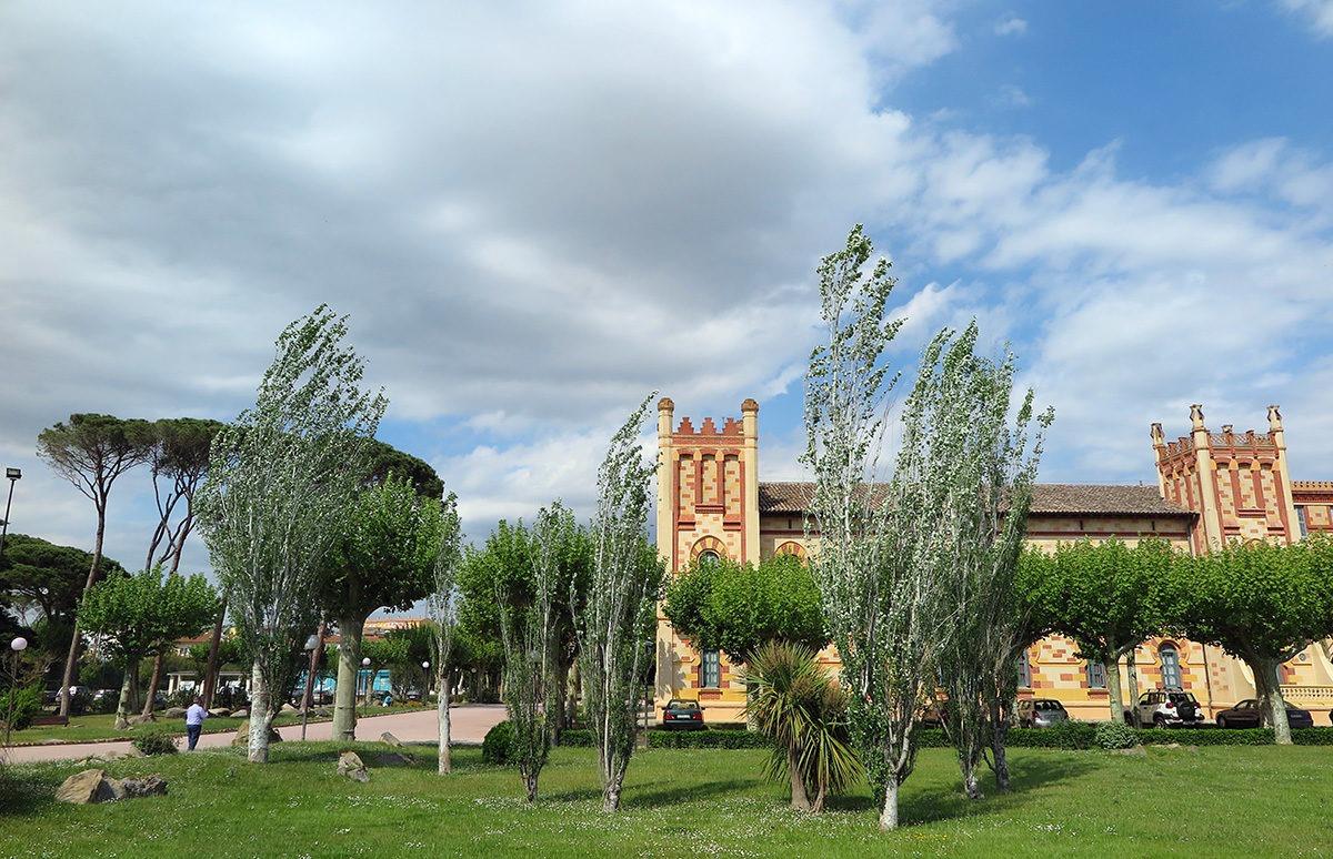 Balneari Vichy, a big thermal spa complex just on the edge of Caldes de Malavella