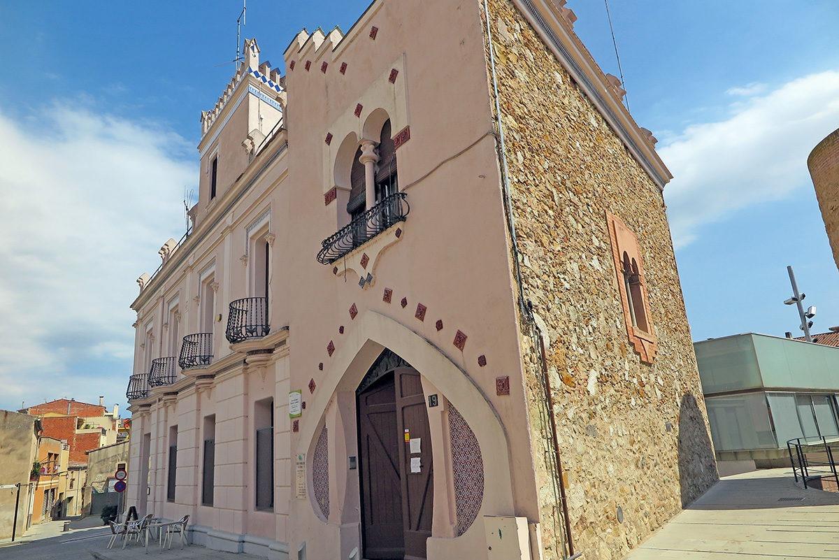 Beautiful architecture in Caldes de Malavella