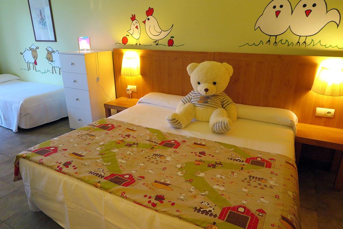 Kids room in the hotel Vilar Rural