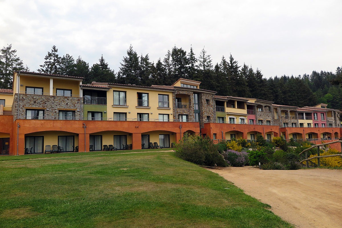 All the buildings of Vilar Rural hotel are put together to form a little 'village'