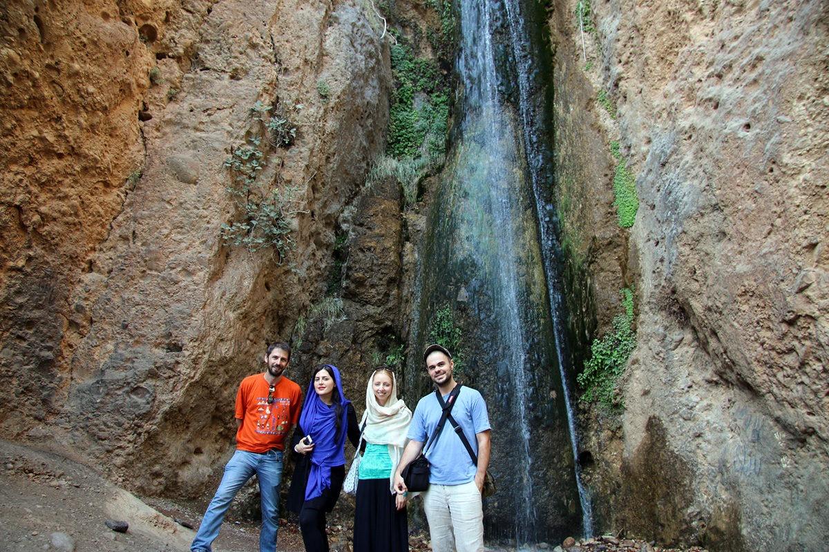 Waterfalls in Ghallat, Iran