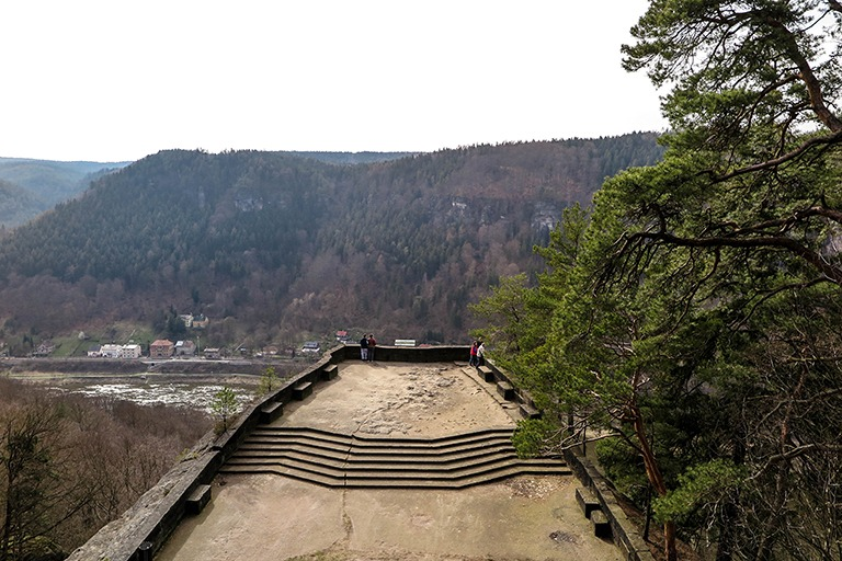 Belvedere viewing platform, Bohemian Switzerland