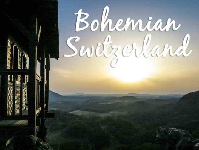 Vertigo inducing views in Bohemian Switzerland