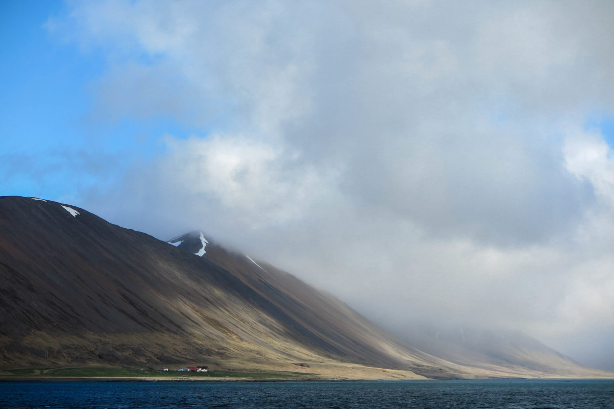 Beautiful landscapes of West Iceland