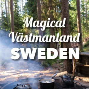 Incredible nature adventure in the lush region of Swedish Västmanland, near Stockholm! Sweden is the best country to enjoy nature and here you'll be staying at cool little huts in the forest!