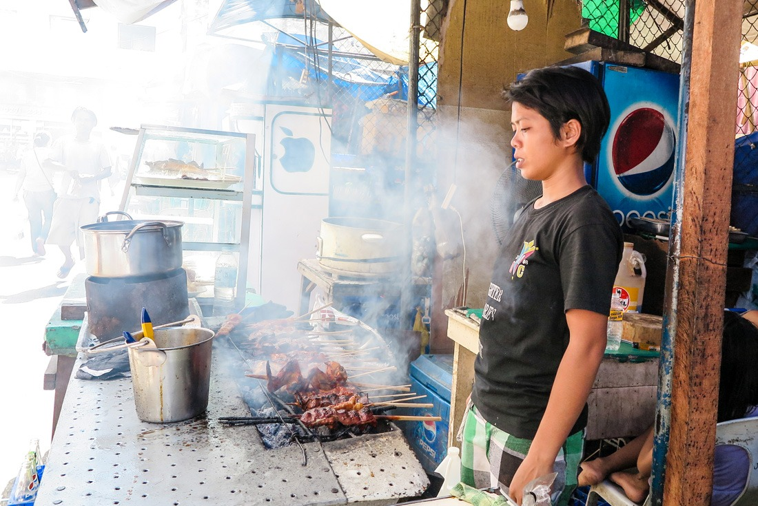 Smoky barbecue Cebu City Philippines www.travelgeekery.com