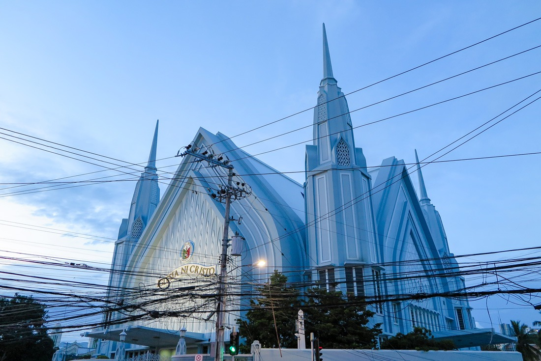 Iglesia Ni Cristo church in Cebu, Philippines