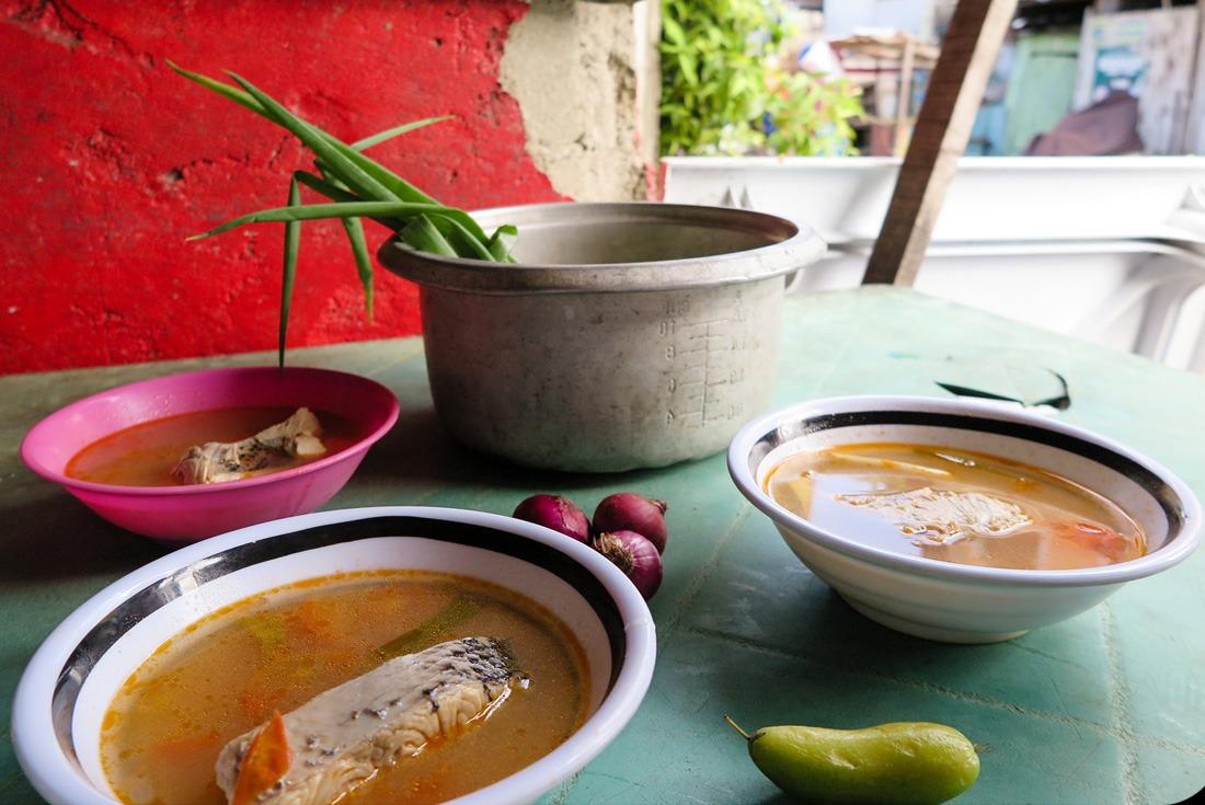 Nilarang fish soup in Cebu City Philippines www.travelgeekery.com