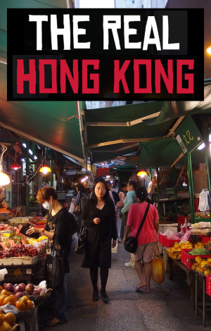 Getting to know real Hong Kong - through food! Local food!