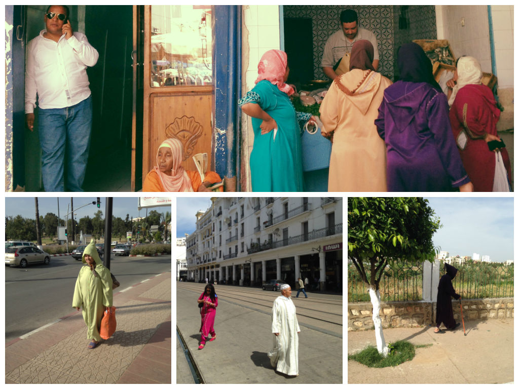 what Moroccans wear