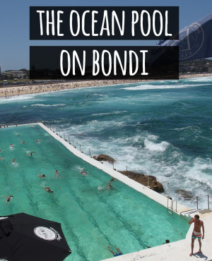 Ocean Pool on Bondi Beach, Sydney, Australia. It's the best place to swim!