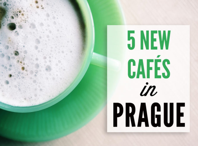 See what best cafés have recently opened in Prague