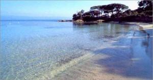 Marinella beach Corsica