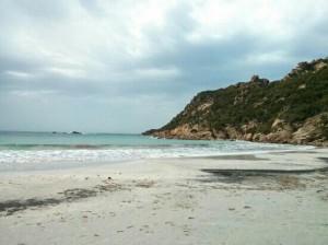 Roccapina beach Corsica