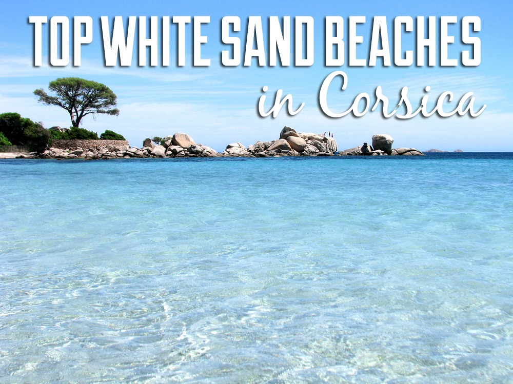 white sand beach Corsica