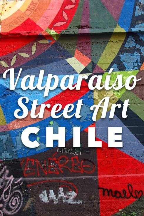Valparaiso street art - a virtual photo walk covering all major Valparaiso's murals and graffiti. See this gem of a city where artists thrive!