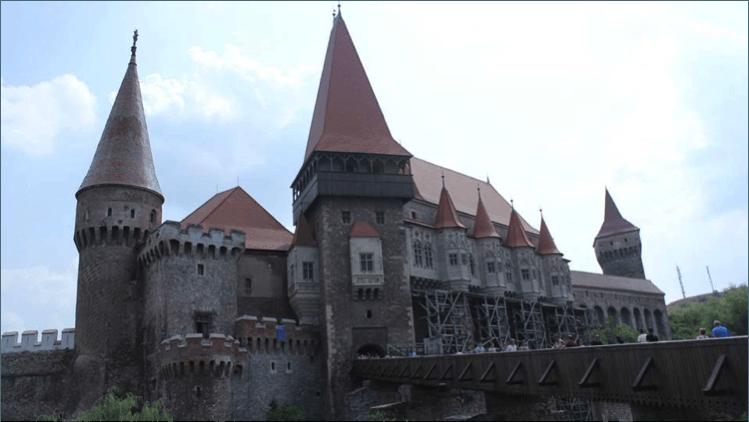 Corvin castle Dracula Transylvania