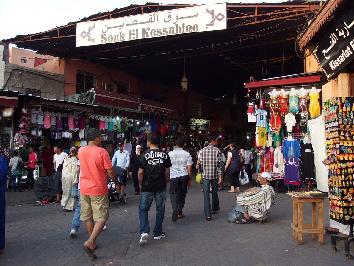 haggling Marrakech