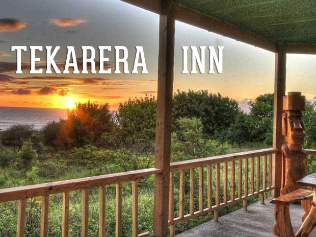 Stay at Tekarera Inn, a great accommodation option on the Easter Island