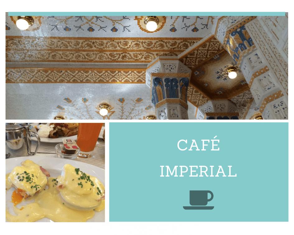 Cafe Imperial Prague