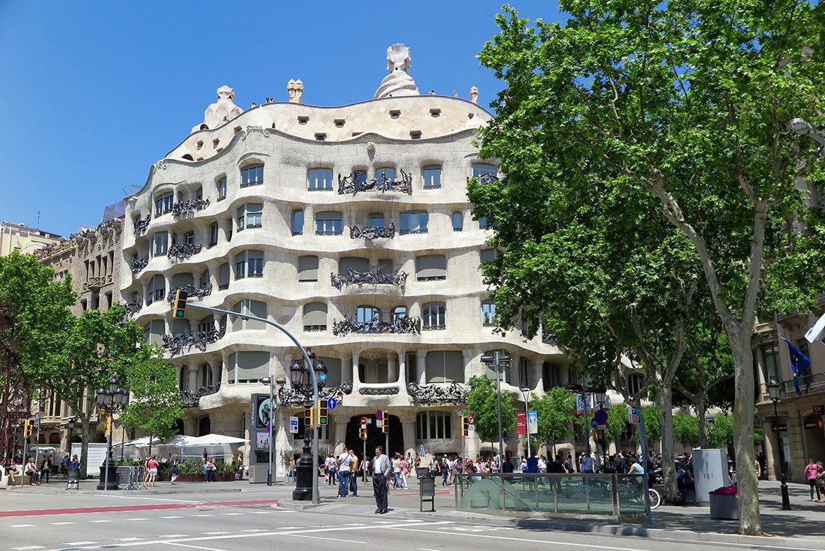 La Pedrera (Casa Milo) in Barcelona