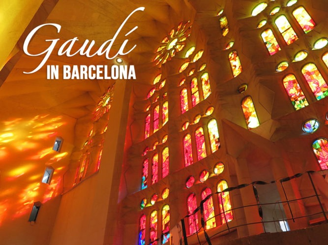 Gaudi in Barcelona - Sagrada Familia and Casa Batllo