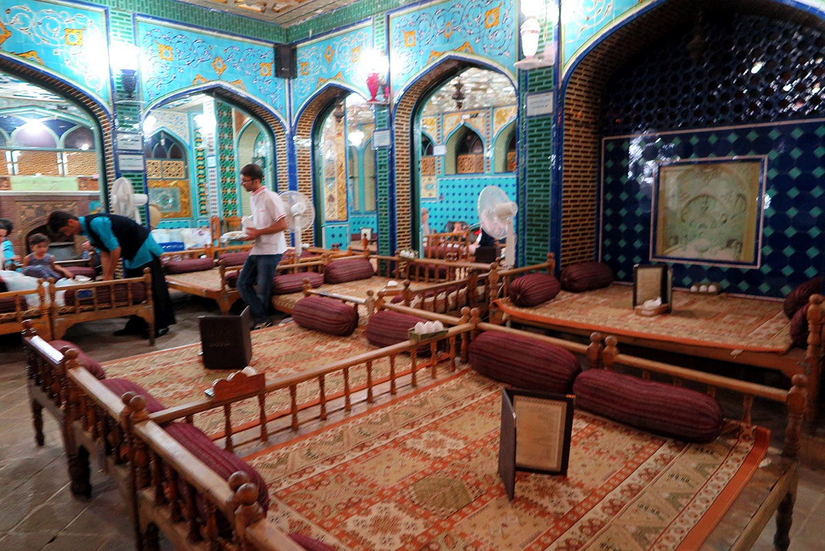 Traditional Banquet Hall in Esfahan, Iran