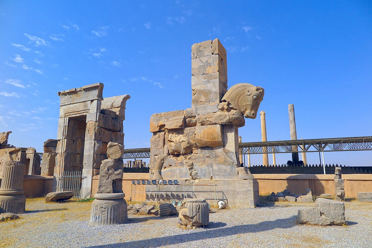 Ancient City of Persepolis, near Shiraz, Iran