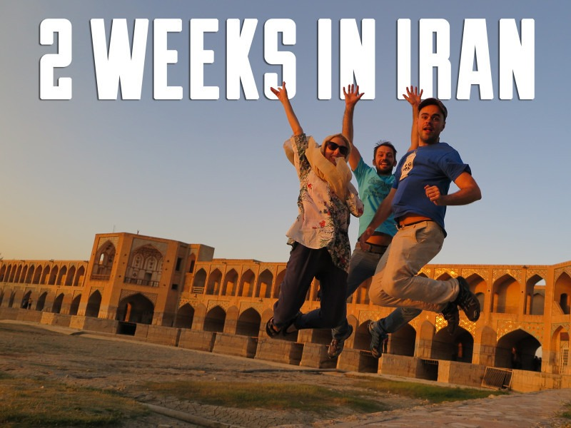 2 weeks itinerary Iran