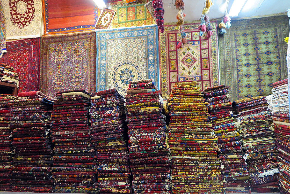 The Flying Carpet shop in Esfahan