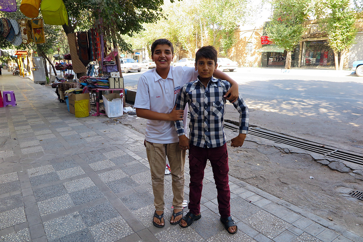 Cool kids of Yazd