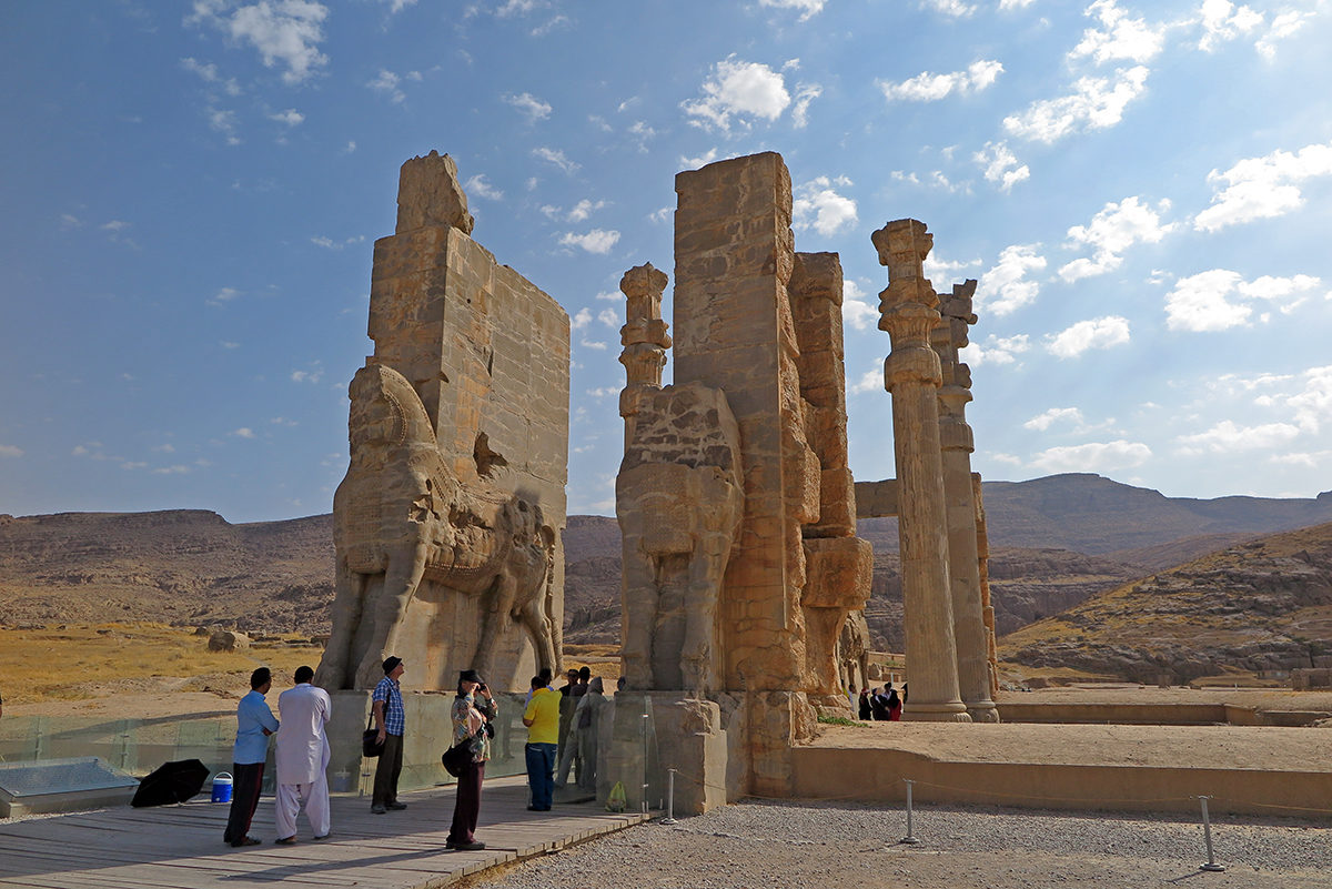 Magical Persepolis - most people's no. 1 reason to visit Shiraz