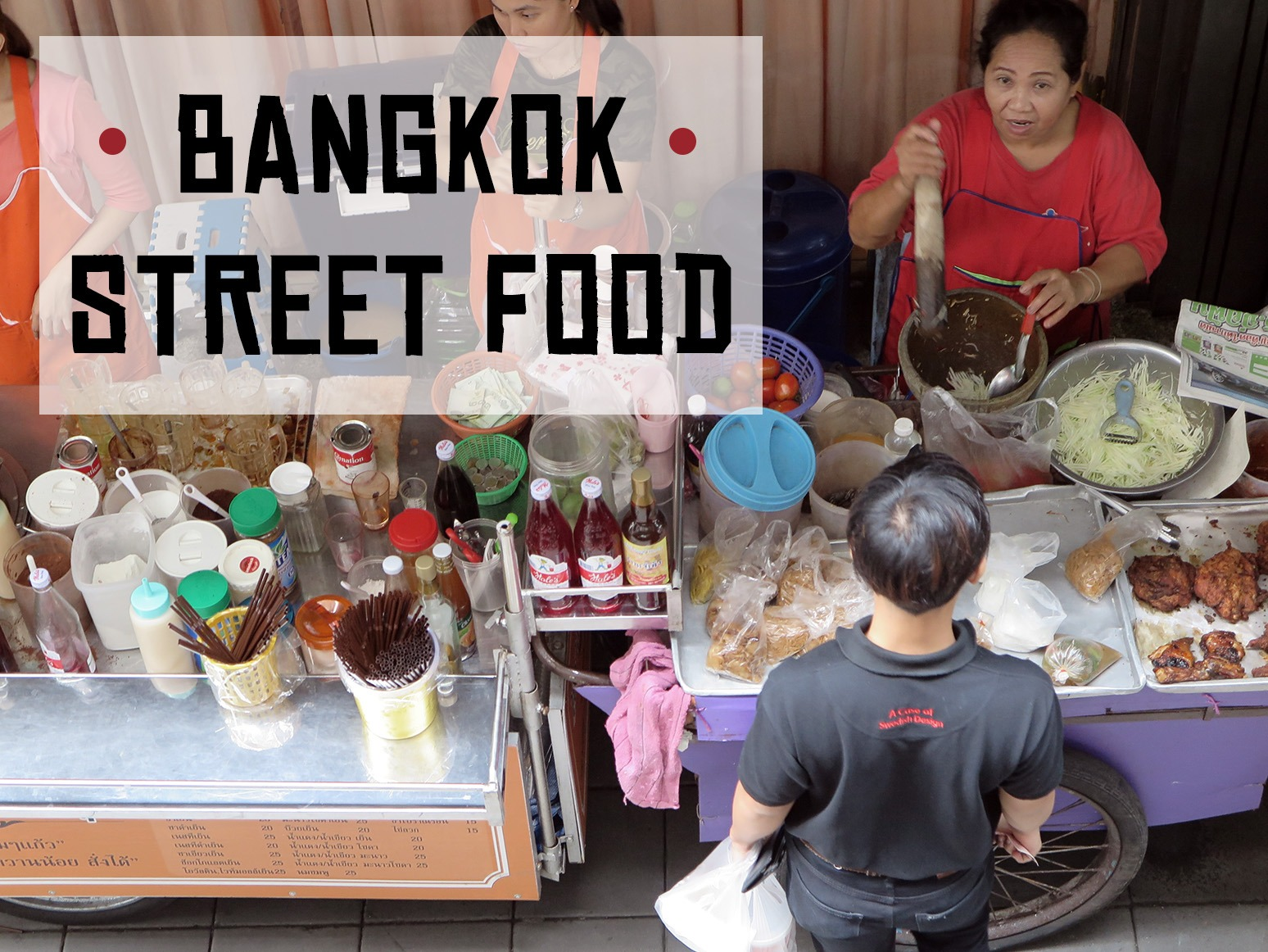 The best food in Bangkok: Street food!