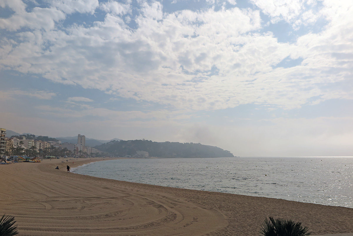 Main beach in Lloret de Mar