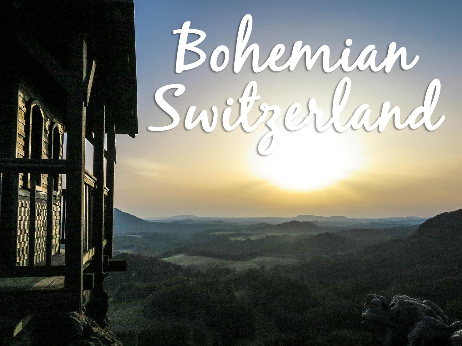 Vertigo inducing views in Bohemian Switzerland