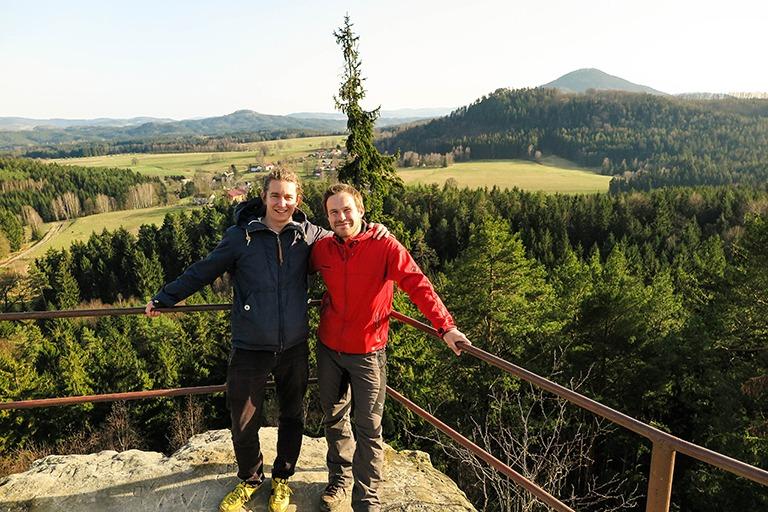 Guys from Northern Hikes, Bohemian Switzerland