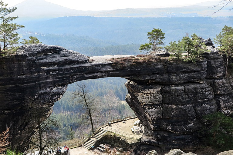 Pravčická Gate, Bohemian Switzerland, Czech Republic