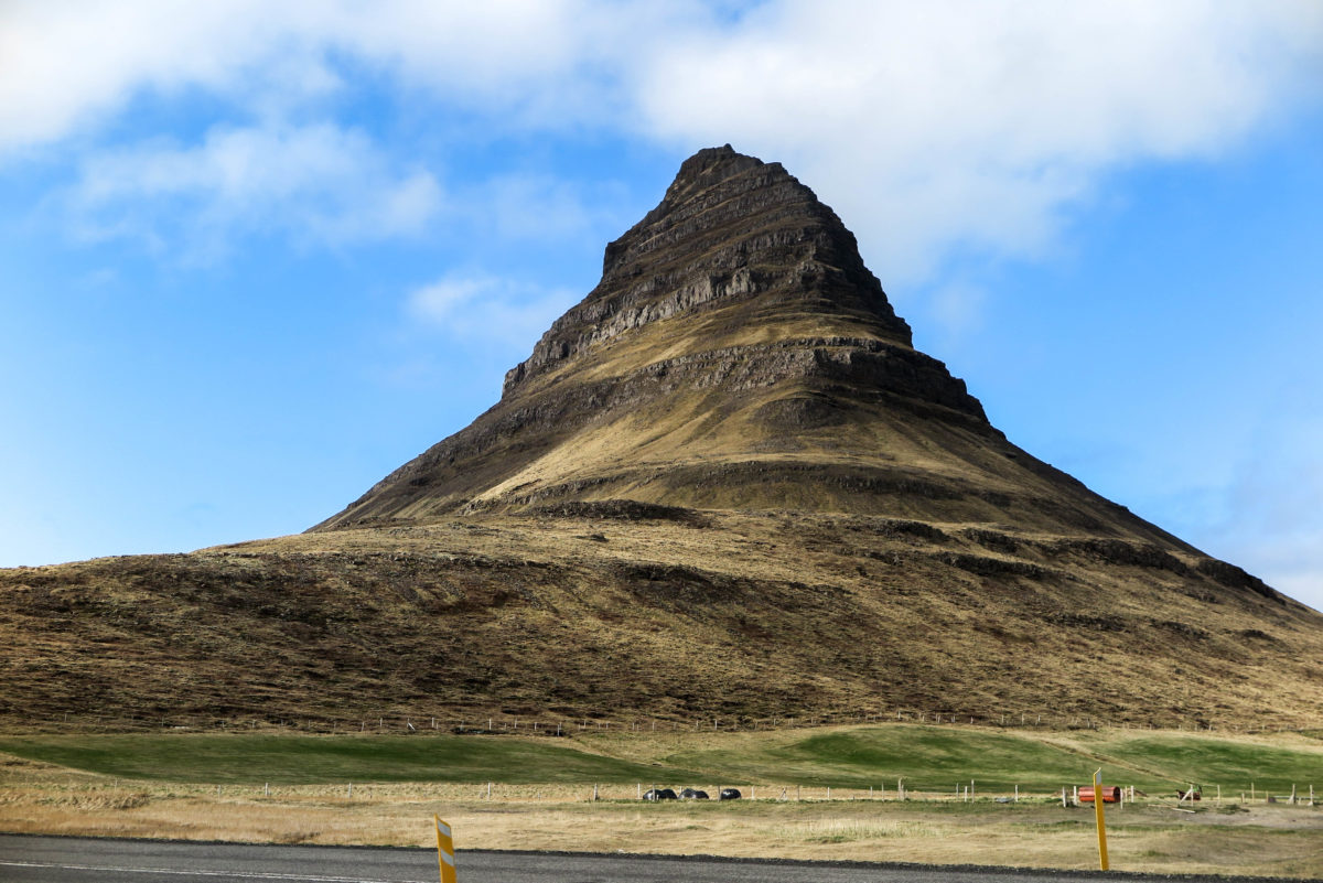 Kirkjufell, a.k.a. the Church mountain, Snaefallsness Peninsula, West Iceland.