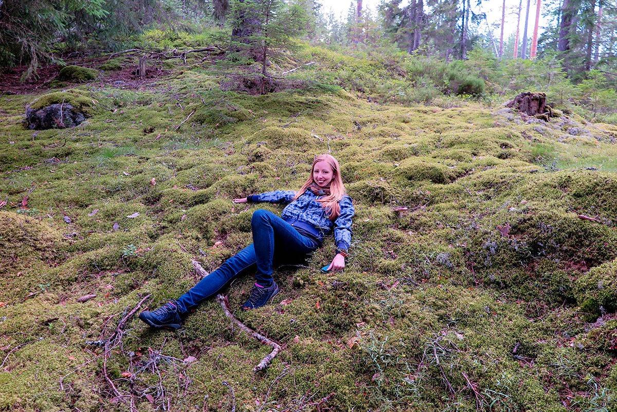 Mossy carpet-like forest bed www.travelgeekery.com