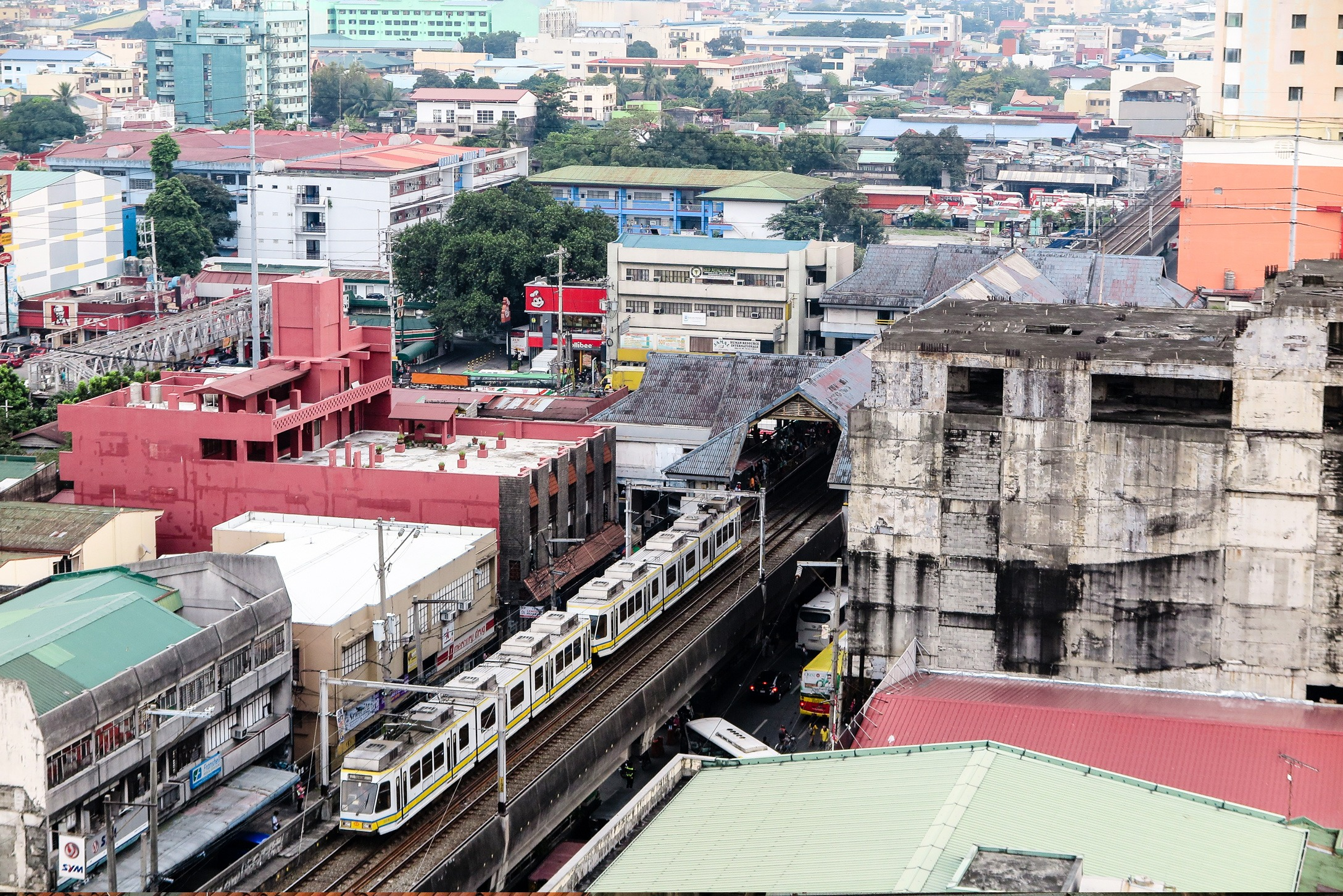 Manila Airbnb apartment view