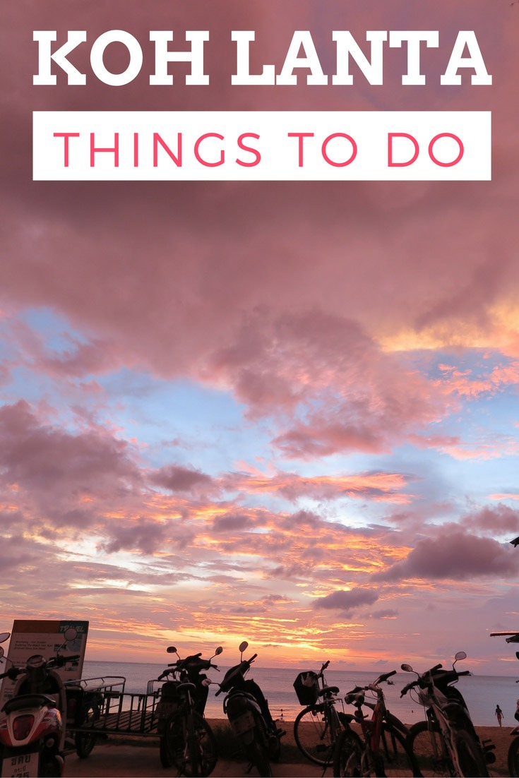 What to do in Koh Lanta island, Thailand