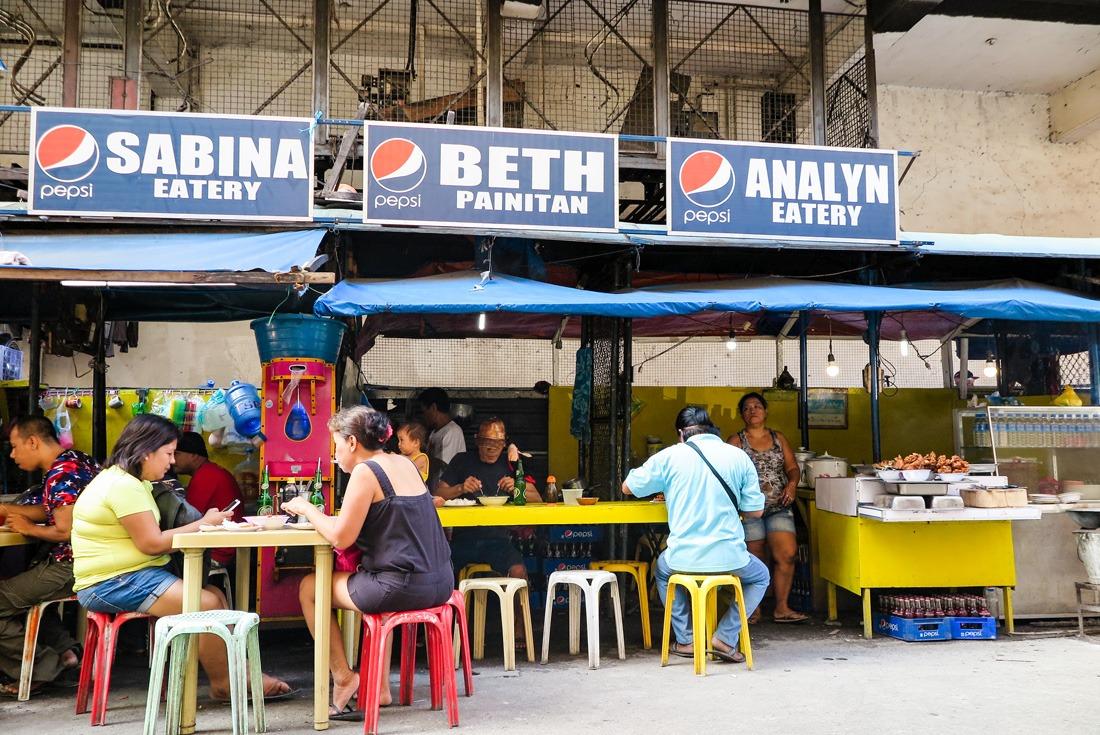 Cebu street eatery, Philippines www.travelgeekery.com